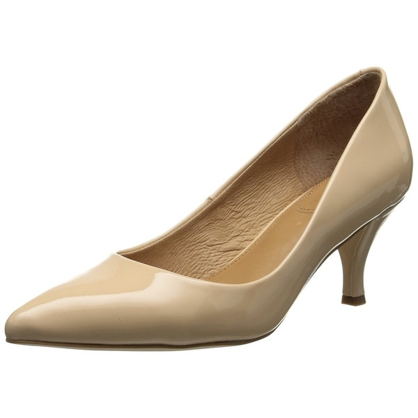 Corso Como Womens Penny Leather Pointed Toe Classic Pumps