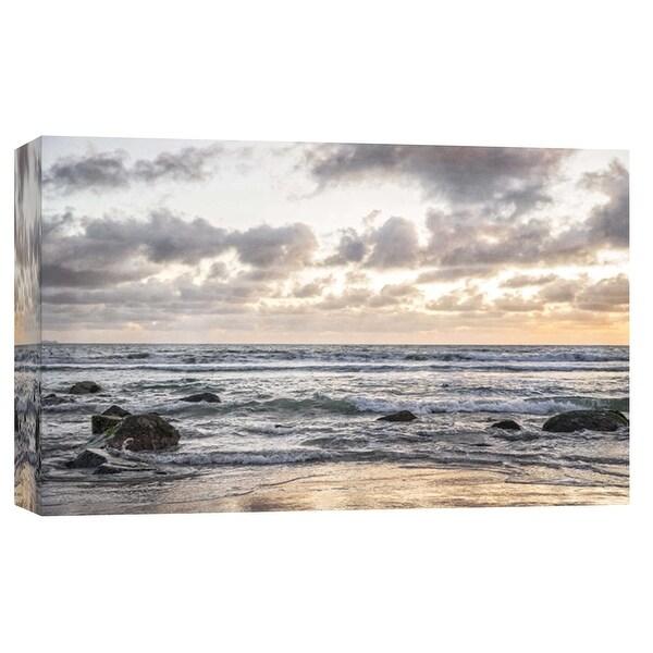 "PTM Images 9-102256 PTM Canvas Collection 8"" x 10"" - ""Coronado Ocean"" Giclee Coastlines Art Print on Canvas"