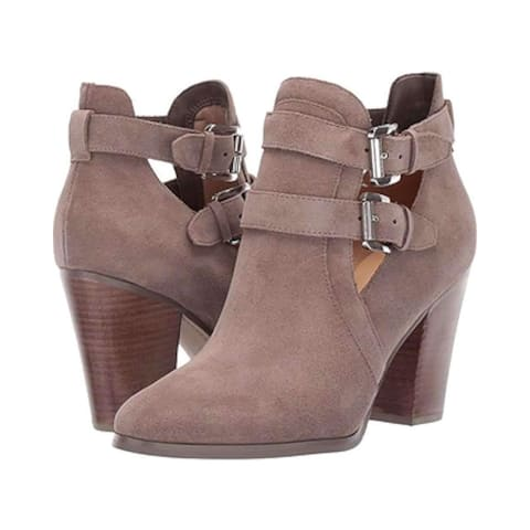 01598a45d0d Michael Michael Kors Womens Walden Leather Almond Toe Ankle Fashion Boots -  8