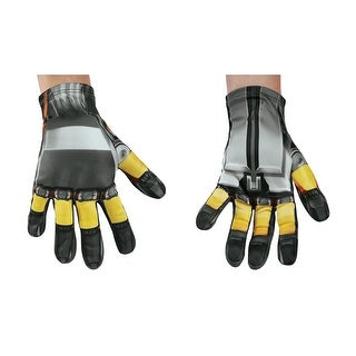 Boys Transformers Bumblebee Costume Gloves - standard - one size