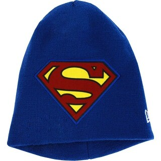 Superman Oversized New Era Knit Hat