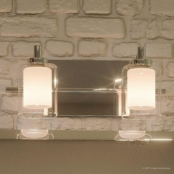 "13 Dreamy Bathroom Lighting Ideas: Shop Luxury Modern Bathroom Vanity Light, 6""H X 13""W, With"