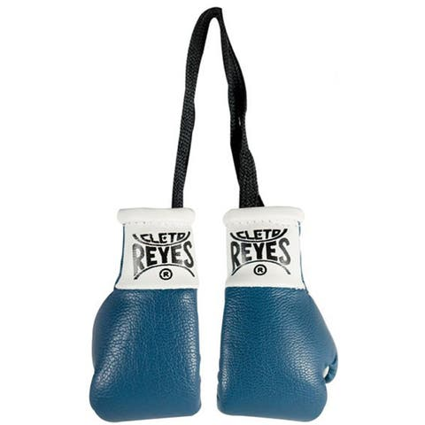 Cleto Reyes Miniature Pair of Boxing Gloves - Blue