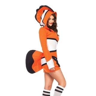 Cozy Orange Fish Costume, Clownfish Costume