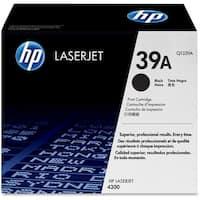 HP 39A Black LaserJet Toner Cartridge (Q1339A)(Single Pack)