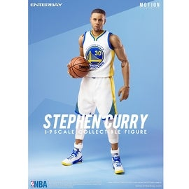 Enterbay X NBA Collection Stephen Curry 1:9 Action Figure Collectible Figurine