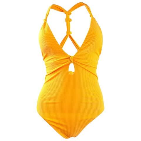 Bar III Women's Like It or Knot One-Piece Swimsuit