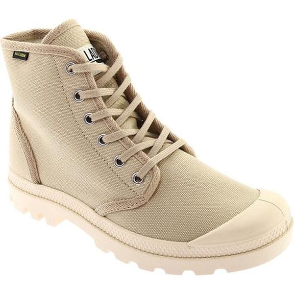 3e3264850a20 Shop Palladium Pampa Hi Originale Boot Sahara/Ecru Canvas - On Sale ...