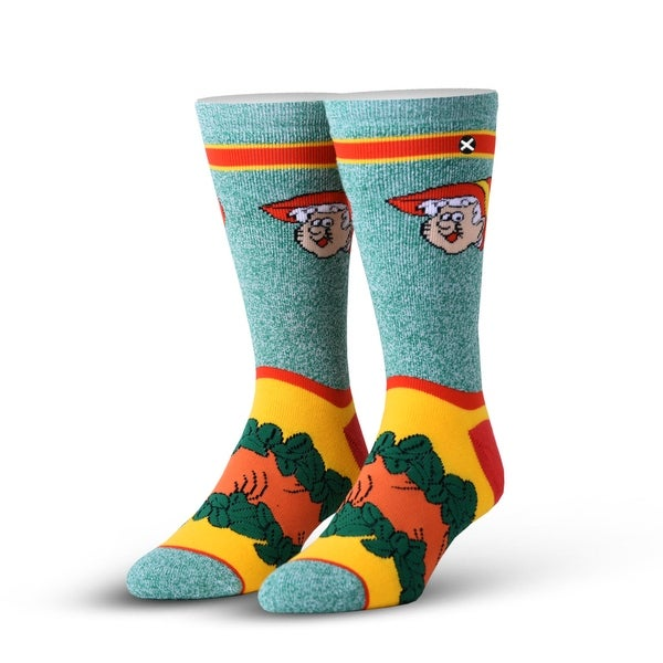 Keebler Elf Knit Crew Socks, 6-13