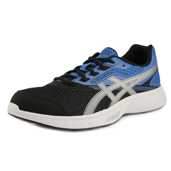 Asics Stormer Men Round Toe Synthetic Blue Walking Shoe