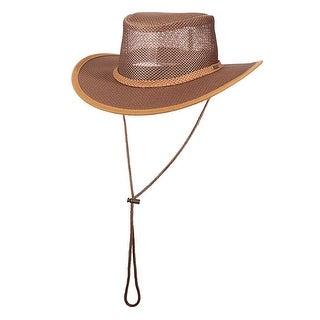 Stetson Mesh Covered Safari Hat
