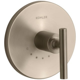 Kohler K-T14488-4 Purist Single Metal Lever Handle Thermostatic Valve Trim
