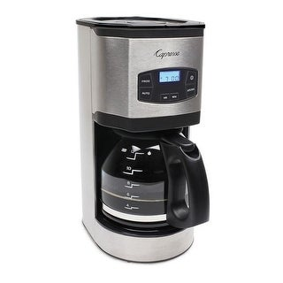 Capresso 494.05 Coffee Maker, Stainless Steel, 12 Cup