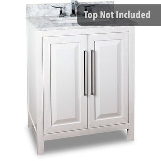 Jeffrey Alexander VAN104-30 29-11/16 Inch Single Free Standing Hardwood Vanity Cabinet Only from the Cade Contempo Collection