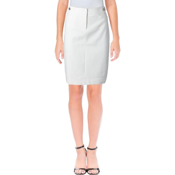dd4d255259 Shop Tommy Hilfiger Womens Pencil Skirt Pull On Knee-Length - Free ...