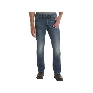 Wrangler Mens Slim Bootcut Jeans Relaxed Fit Natural Waist - 33/30