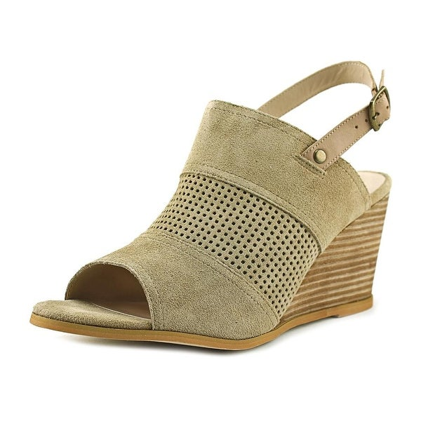 Very Volatile Hyde Women Open Toe Suede Wedge Sandal