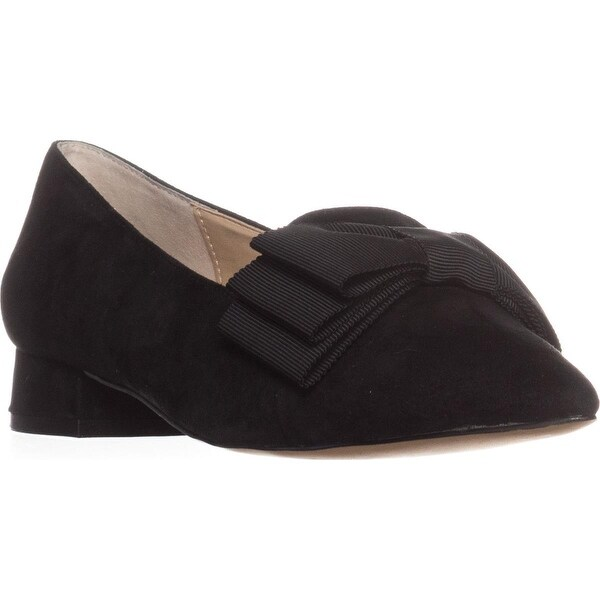 Adrienne Vittadini Ficke Flat Loafers, Black