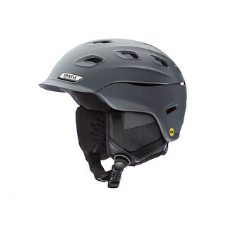 Smith Optics Vantage MIPS Snow Helmet (Matte Charcoal/ Medium) - Black
