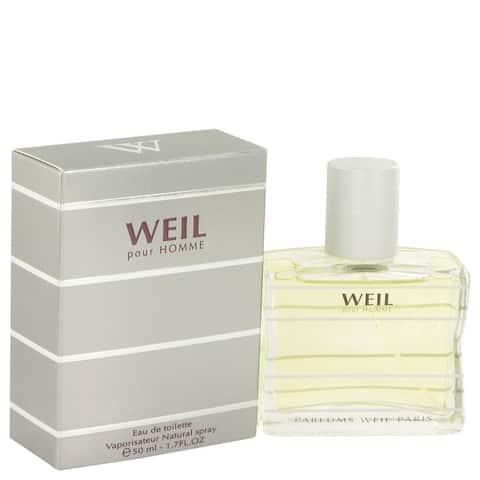 Weil Pour Homme by Weil Eau De Toilette Spray 1.7 oz
