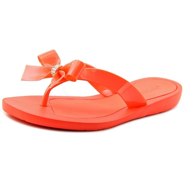 c60b3987309a Shop Guess Tutu Open Toe Synthetic Flip Flop Sandal - Free Shipping ...