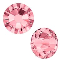 Swarovski Elements Crystal, Round Flatback Rhinestone SS5 1.8mm, 72 Pieces, Blush Rose F