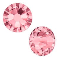 Swarovski Elements Crystal, Round Flatback Rhinestone SS9 2.5mm, 72 Pieces, Blush Rose F