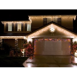 DROPLITE Solar Curtain Lights for Holiday or Party