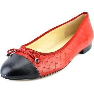 Marc Fisher Jodianne Women Round Toe Leather Flats