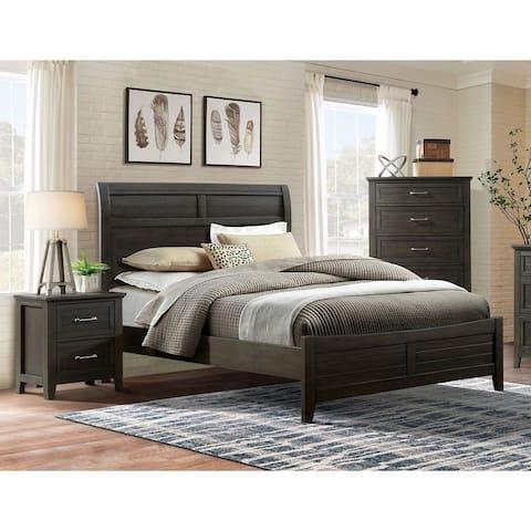 Furniture of America Inyx Transitional Walnut 3-piece Bedroom Set