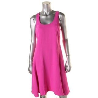Lauren Ralph Lauren Womens Petites matte Jersey Sleeveless Casual Dress - 8P