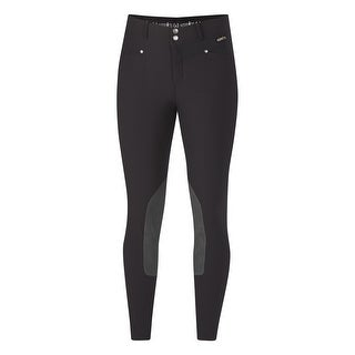 Kerrits English Breeches Womens Slim Knee Patch Fly Snap