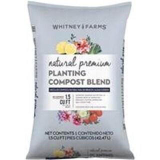 Whitney Farms 1.5 cu ft. Natural Premium Planting Compost Blend