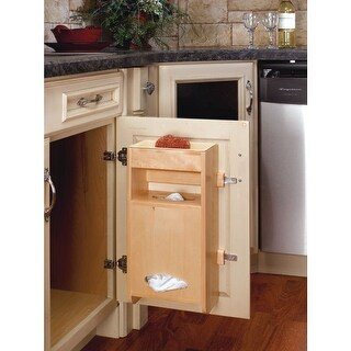 Rev-A-Shelf 4SPBD-18 4SPBD Series Grocery Bag Holder for 18 Inch Base Cabinets - N/A