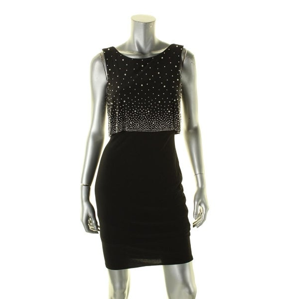 a1b996b01c46 Shop Xscape Womens Party Dress Embellished Popover - Free Shipping On  Orders Over $45 - Overstock - 16982482