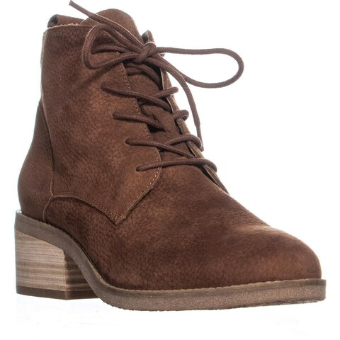 Lucky Brand Tamela Lace-Up Ankle Boots, Toffee