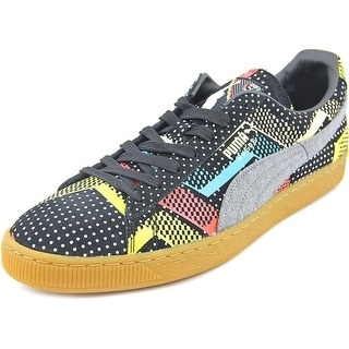 Puma Suede BHM Statement Men Round Toe Synthetic Sneakers