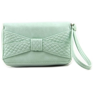 LuLu Bow Wristlet Women Leather Wristlet