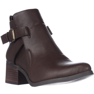 MIA Nahira Ankle Booties - Coffee