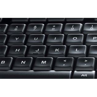 11bcead19fa Shop Logitech K800 Full-Size Illuminated Wireless Slim Keyboard, Black  (920-002359) - Free Shipping Today - Overstock - 18061465