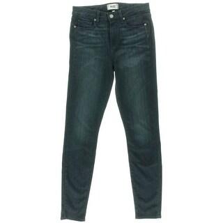 Paige Womens Hoxton Denim High-Waist Skinny Jeans - 28
