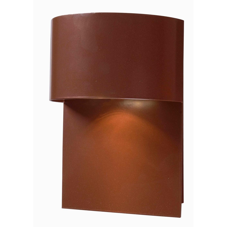 Kenroy Home 93543 Moonlit 1 Light Medium Outdoor Dark Sky Wall Lantern Copper Overstock 18689310