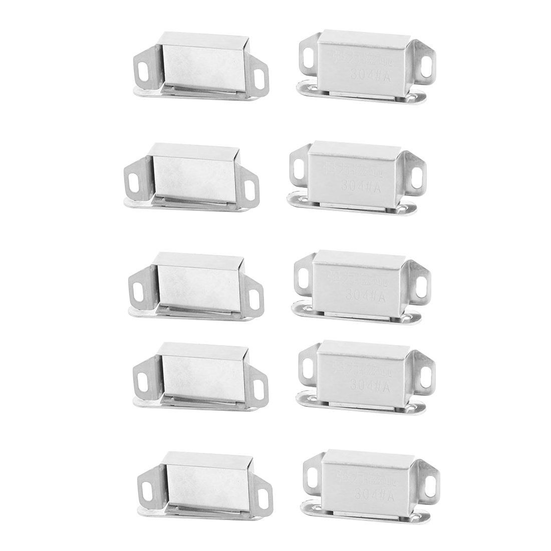 Home Stainless Steel Door Wardrobe Closet Stopper Holder Magnetic Catch Latch