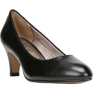 Life Stride Women's Sable Pump Black Smooth