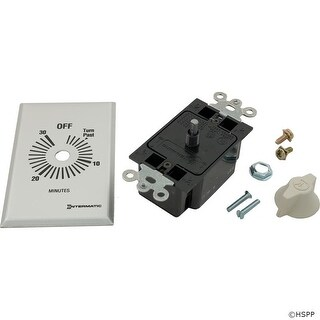 Timer, Intermatic, SPST, Wound, 30min, 20A