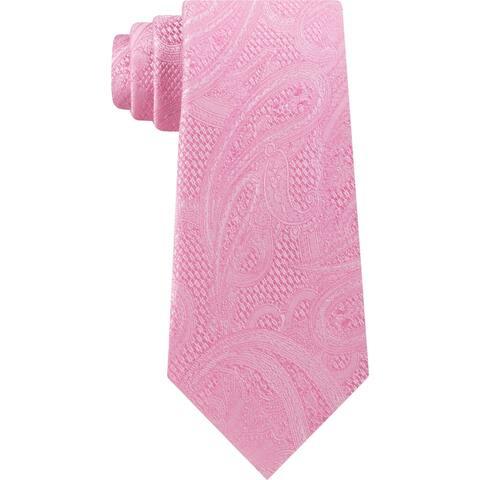 Michael Kors Mens Neck Tie Silk Paisley - O/S