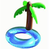 Inflatable 4 ft. Tropical Island Pool Float - Multi