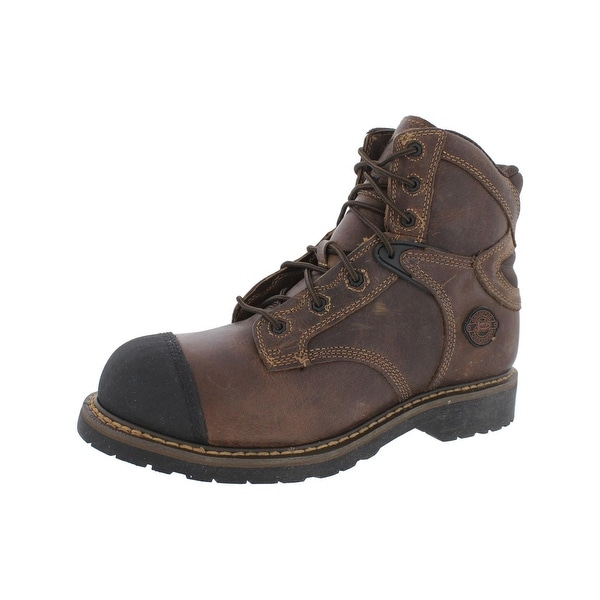 Justin Original Work Boots Mens Work Boots Composite Toe Leather