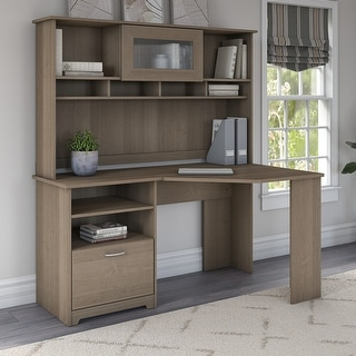 Link to Copper Grove Daintree Corner Desk with Hutch Similar Items in Home Office Furniture