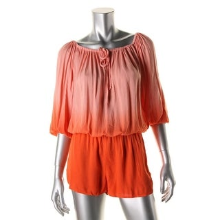 Young Fabulous & Broke Womens Jersey Ombre Romper - XS